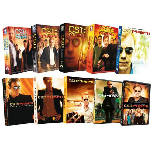 CSI: Miami Complete Series Pack (Widescreen) by PARAMOUNT HOME VIDEO