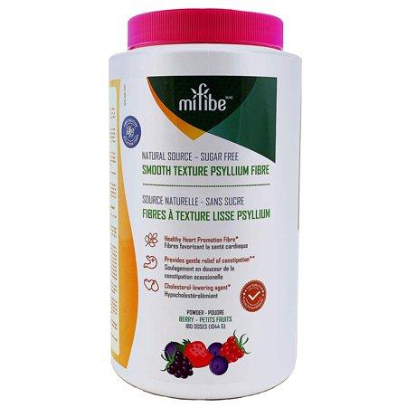 Psyllium Fiber Powder, Smooth Textured, Sugar Free, Great Taste, Berry Flavor, 180 Doses, 1044 Grams (Berry) by