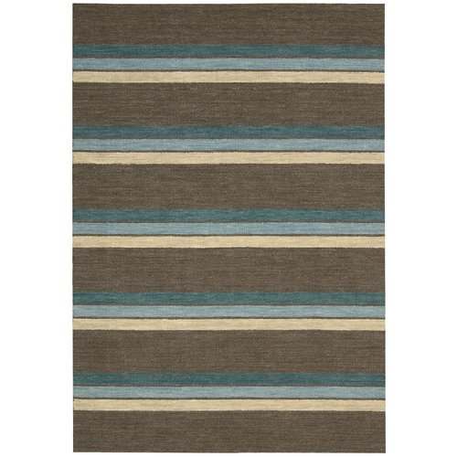 Barclay Butera Manford Hand-Woven Brown Area Rug