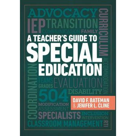 A Teacher's Guide to Special Education : A Teacher's Guide to Special (Qualities Of A Good Special Education Teacher)