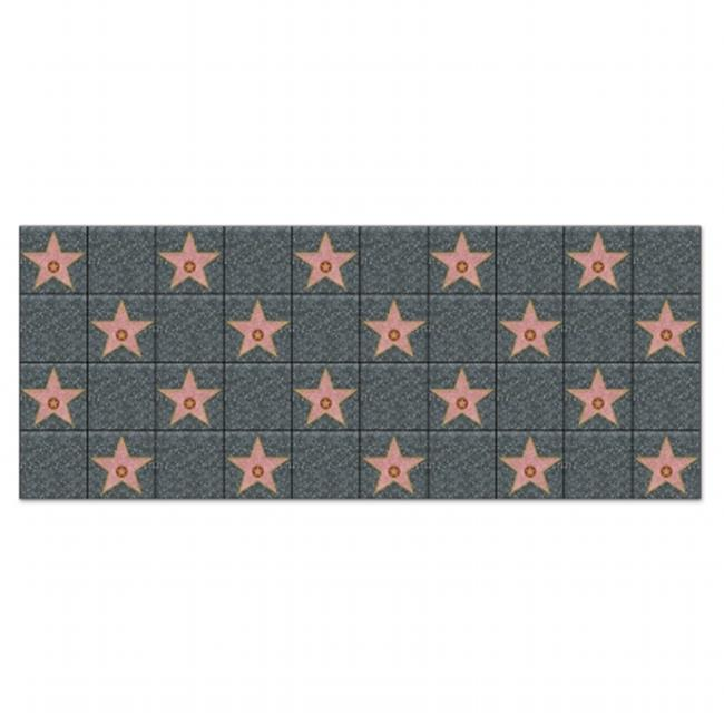 Beistle Company 52129 Star Backdrop - Pack of 6