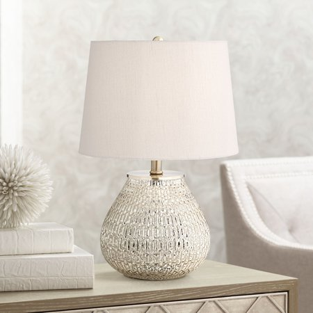 360 Lighting Zax Mercury Glass Table Lamp