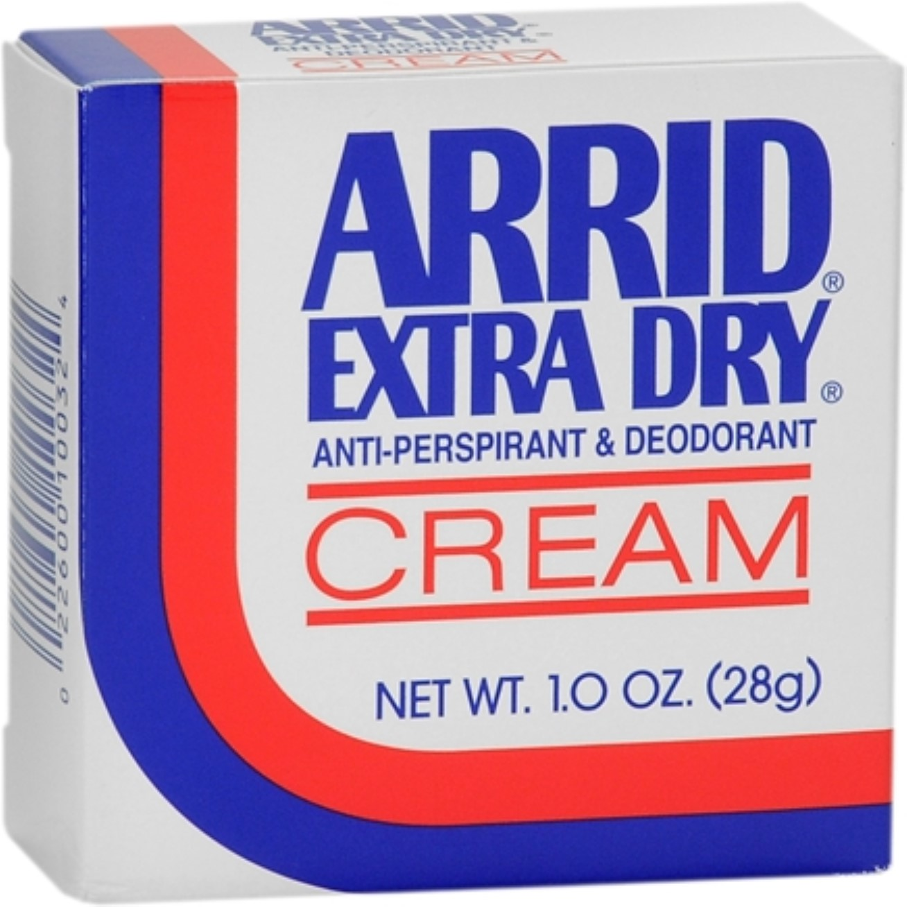 Extra Dry Anti-Perspirant and Deodorant Cream by Arrid, 1 Ounce