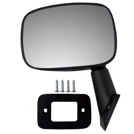 1990 Toyota Pickup Mirror (Drivers Manual Side View Mirror Replacement for Toyota Pickup Truck 8794089112 )