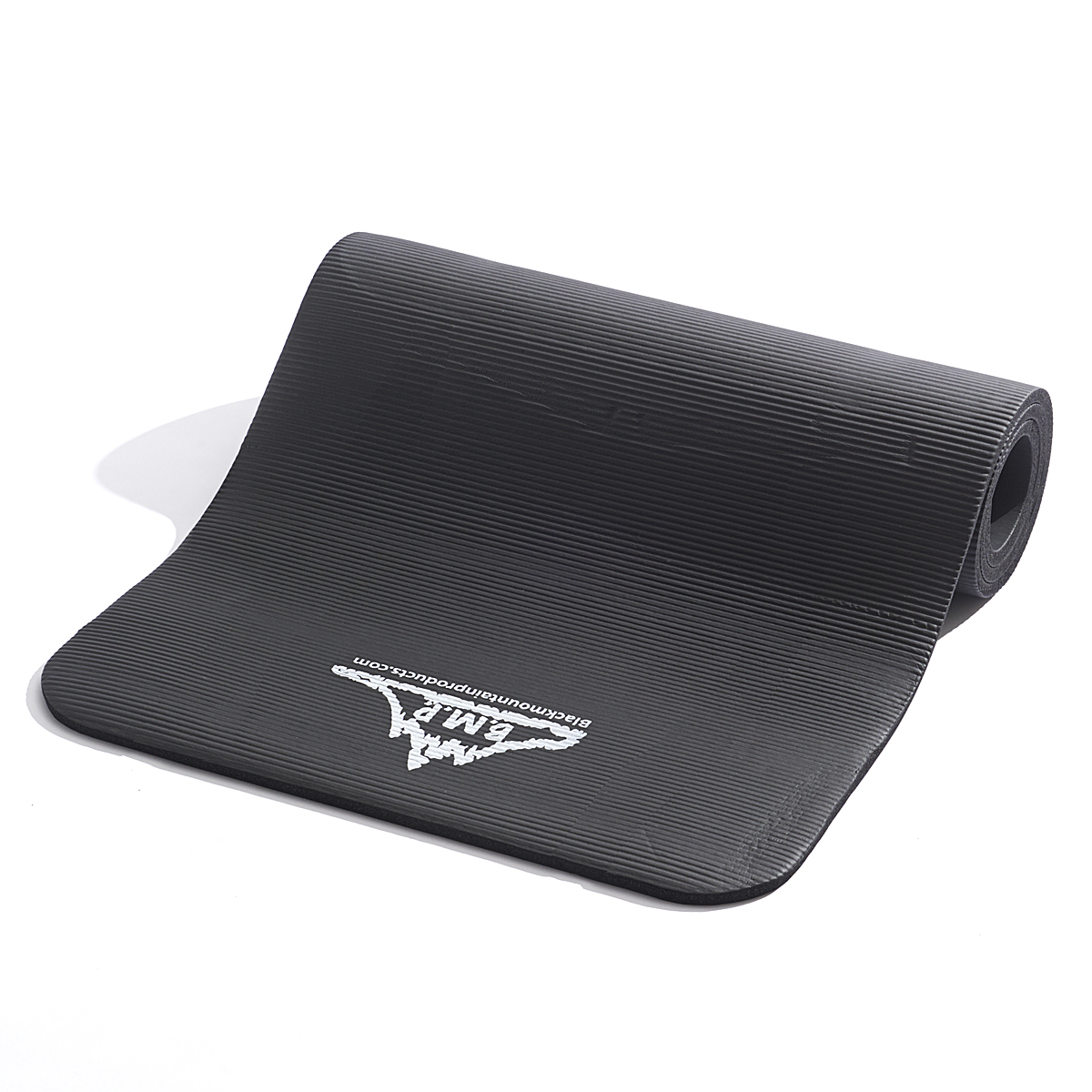Black Mountain Products Yoga and Exercise Mat, 1 2 x 73 1 2 x 24 1 2-Inch by Black Mountain Products