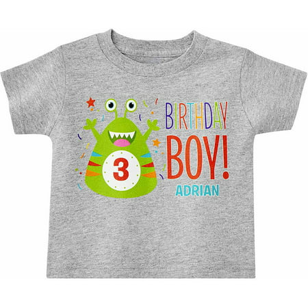 Personalized little monsters birthday t shirt for Walmart custom made t shirts