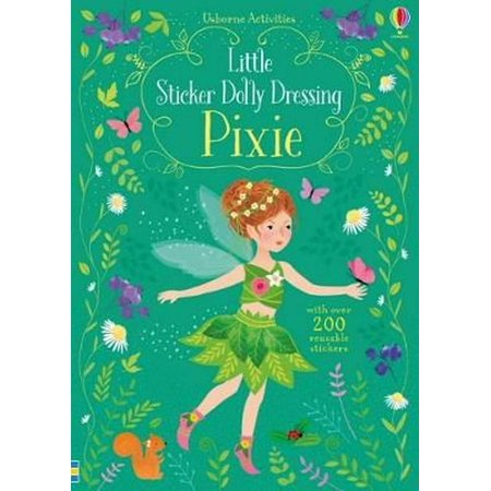 Dressing Long Hair Book - Little Sticker Dolly Dressing Pixies