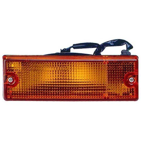Go-Parts OE Replacement for 1988 - 1995 Isuzu Pickup Turn Signal Light Assembly / Lens Cover - Front Right (Passenger) Side 8-97173-531-0 IZ2521102 Replacement For Isuzu Pickup