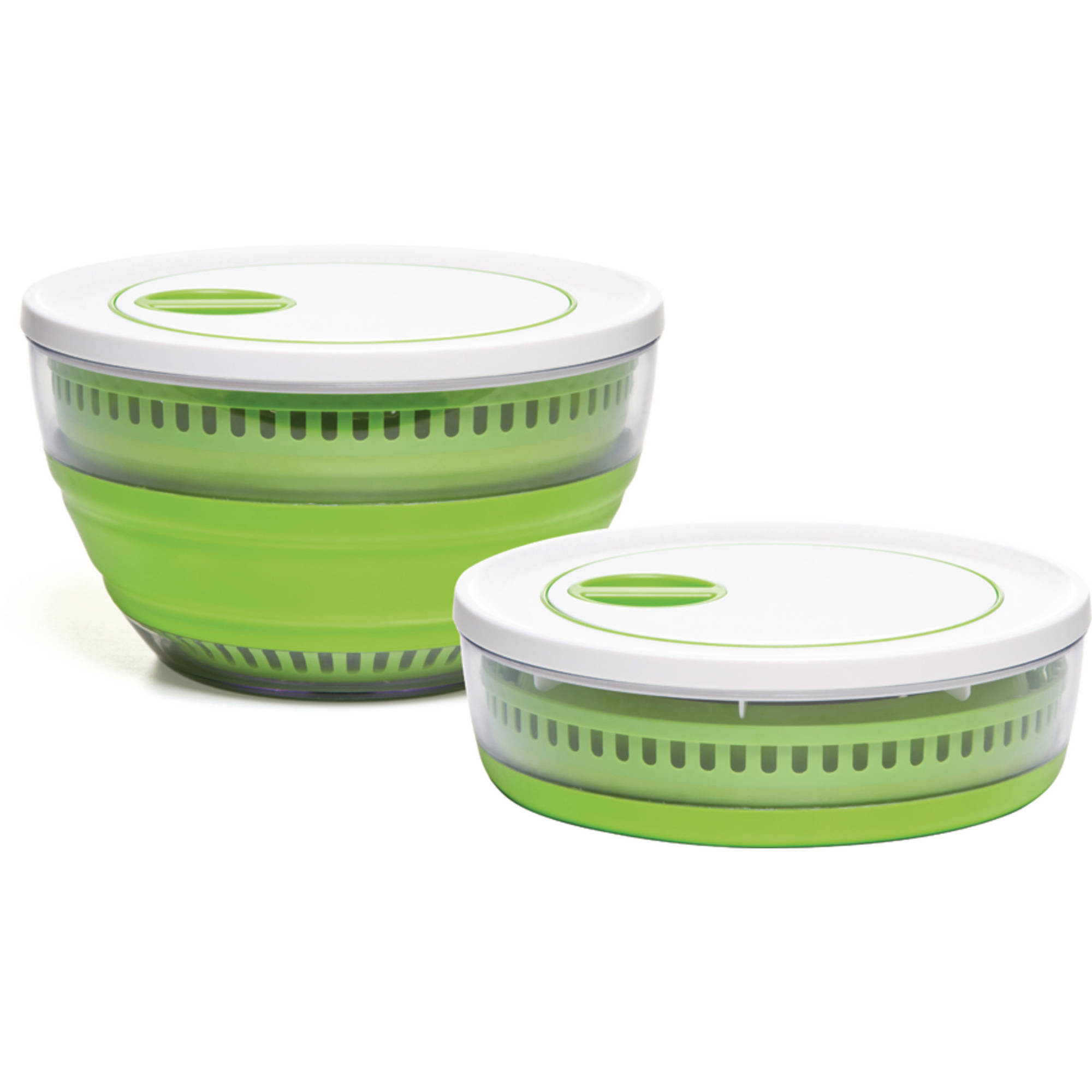Prepworks Collapsible Salad Spinner, 4-Quart Capacity