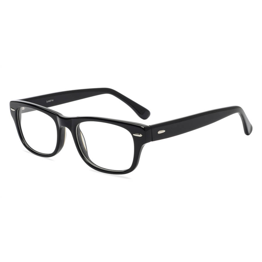 Contour Mens Prescription Glasses, FM9196 Black