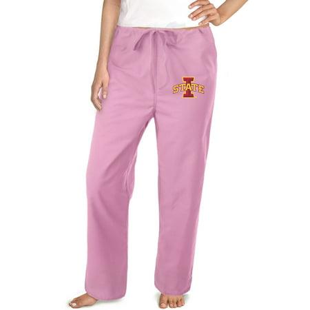 Iowa State Scrub Pants ISU Bottoms for Women