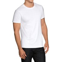 6-Pack Fruit of the Loom Men's Dual Defense White Crew T-Shirts Deals