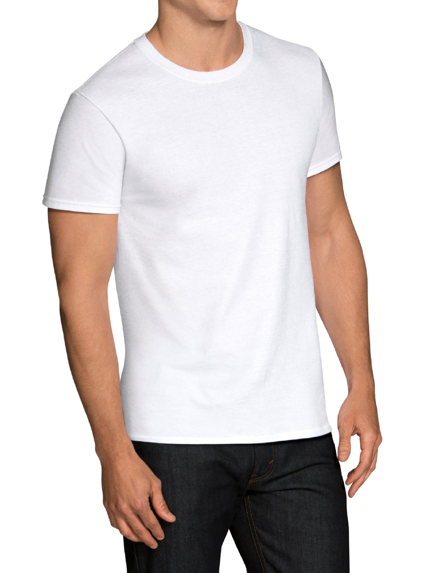 6-Pack Fruit of the Loom Men's Dual Defense Crew T-Shirt