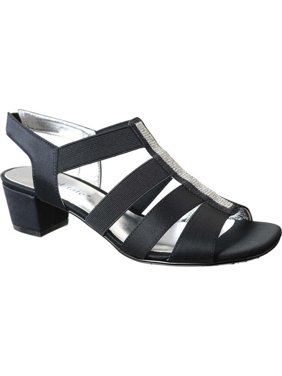 d0766882afef Product Image Women s Eve Jeweled Sandal. Product Variants Selector. Black  Satin Navy Satin White. David Tate