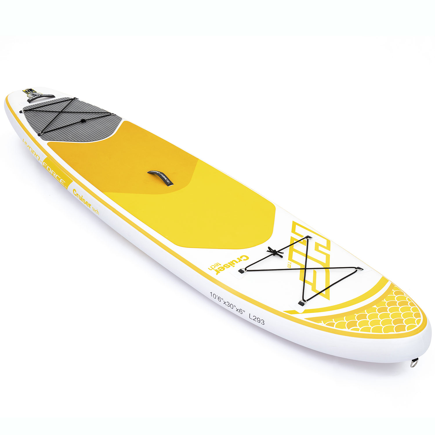 Bestway Hydro Force Inflatable 10 Foot Cruiser Tech SUP Stand Up Paddle Board by Bestway