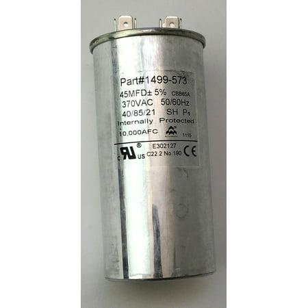 Coleman 1499-5731 Air Conditioner Run Capacitor 40UF 370VAC Coleman Rv Parts