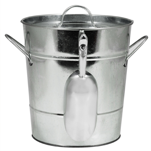 Twine Country Home Galvanized Ice Bucket