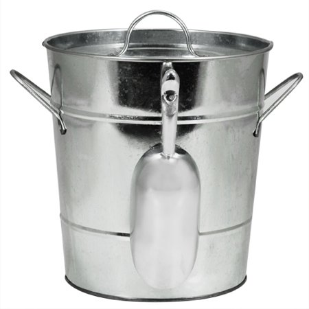 Twine Country Home: Galvanized Ice Bucket](Galvanized Bucket)