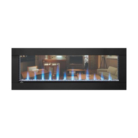 Napoleon CLEARion Built-In See-Thru Electric Fireplace, 50