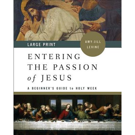 Entering the Passion of Jesus [large Print] : A Beginner's Guide to Holy
