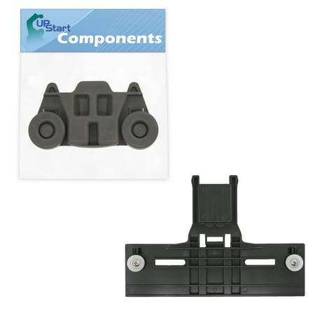 W10350376 Top Rack Adjuster & W10195416 Lower Dishwasher Wheel Replacement for KitchenAid KUDS30IBBT0 Dishwasher - Compatible with W10350376 Rack Upper Top Adjuster & W10195416 Dishrack Wheel