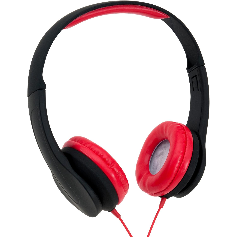 Onn Lightweight On-Ear Headphones with Adjustable Headband and Extra Bass (New Open Box)