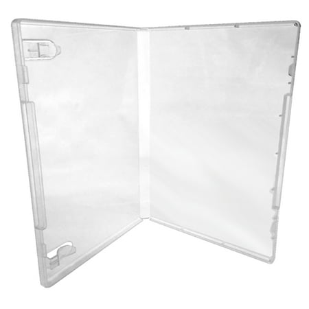 CheckOutStore 1000 Clear Storage Cases 14mm for Rubber Stamps (No Hub) - Halloween Clear Stamps