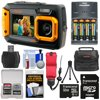 Coleman Duo 2V9WP Dual Screen Shock & Waterproof Digital Camera (Orange) with 32GB Card + Batteries & Charger + Case + Float Strap + Kit