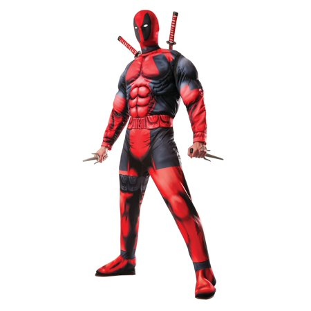 Rubies Costume Co. Deadpool Adult Halloween Costume - Deadpool Costume Pattern