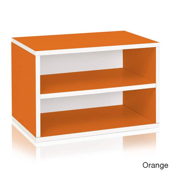 Way Basics Divider Blox Eco-Friendly Storage and Stackable Shelving, Multiple Colors