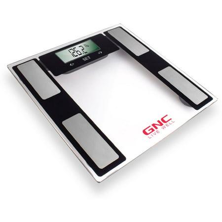 Gnc Full Body Fat Scale Clear Walmart Com