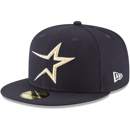 Houston Astros New Era Cooperstown Collection Wool 59FIFTY Fitted Hat - Navy ()