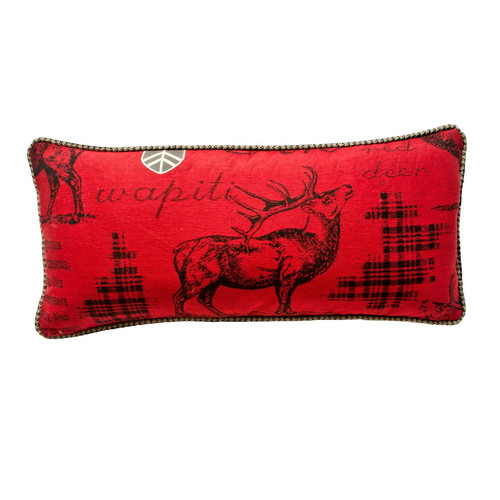 Silverado Home Kodiak Reversible Lumbar Pillow