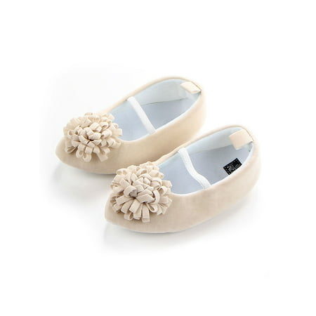 Funcee Cute Baby Girl Princess Shoes Anti-slip Dress Shoes