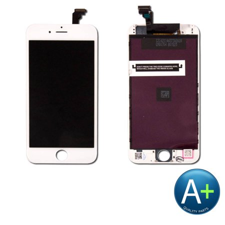 Touch Screen Digitizer and LCD for Apple iPhone 6 White (A1549, A1586, (Iphone 6 Lcd Screen And Digitizer Full Assembly)