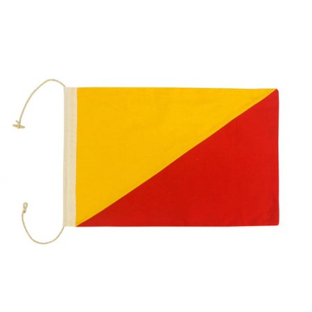 Letter O Cloth Nautical Alphabet Flag Decoration
