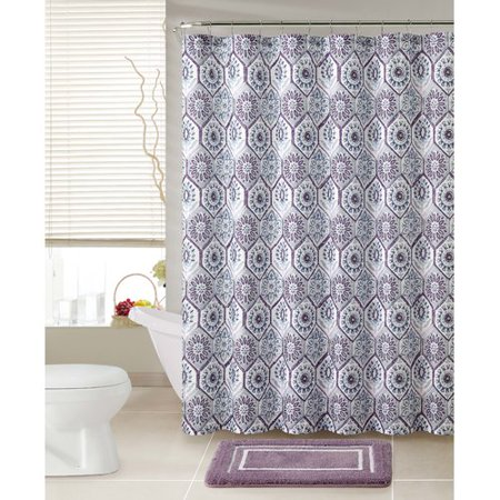 Vcny Athena 2 Piece Shower Curtain Set