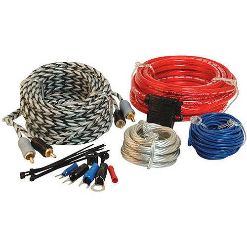 Scosche 680W 8-Gauge Wiring Kit for Single Amps