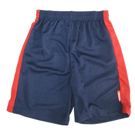 s Little Boys Navy Blue Red Side Stripe Spiderman Shorts 4-7](Red Boy Shorts)