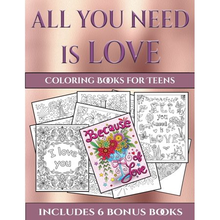 Halloween Coloring Sheets Pdf (Coloring Books for Teens (All You Need Is Love) : This Book Has 40 Coloring Sheets That Can Be Used to Color In, Frame, And/Or Meditate Over: This Book Can)