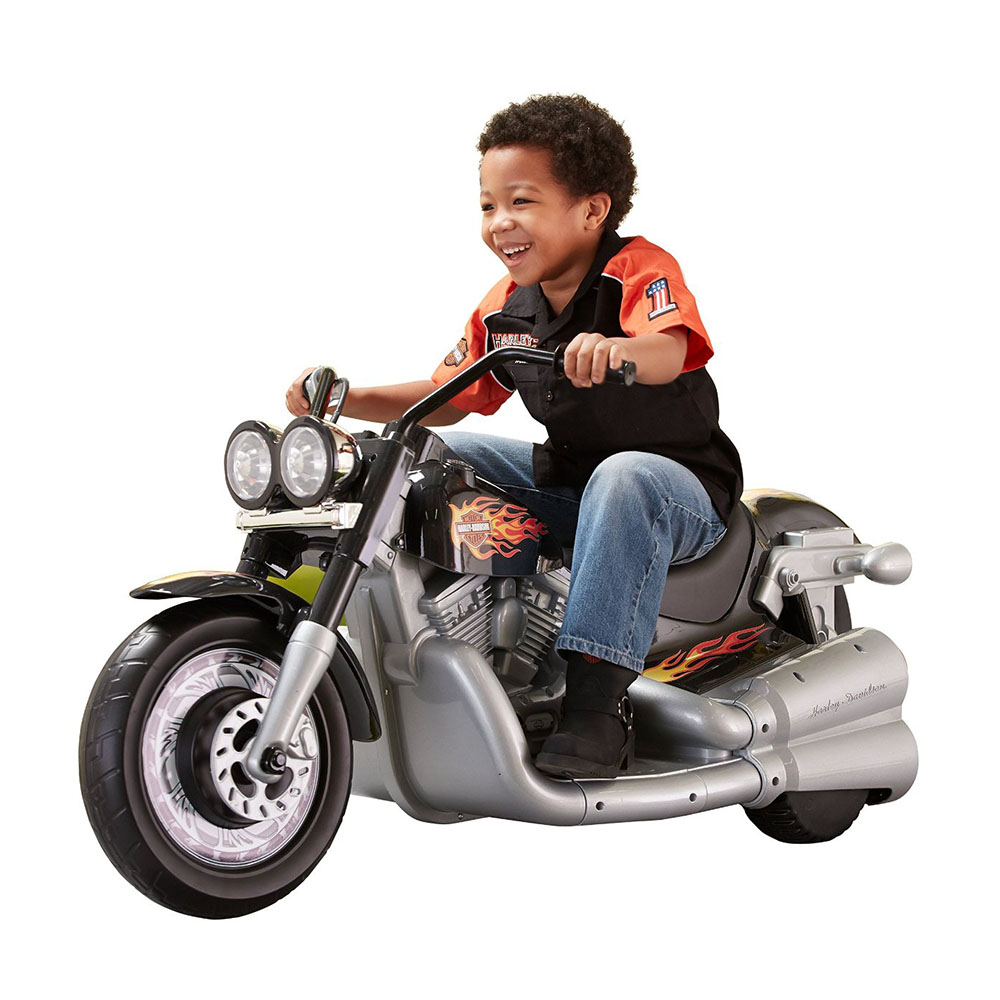 Fisher Price Power Wheels Harley-Davidson Cruiser 12V Battery-Powered Ride-On by FISHER PRICE