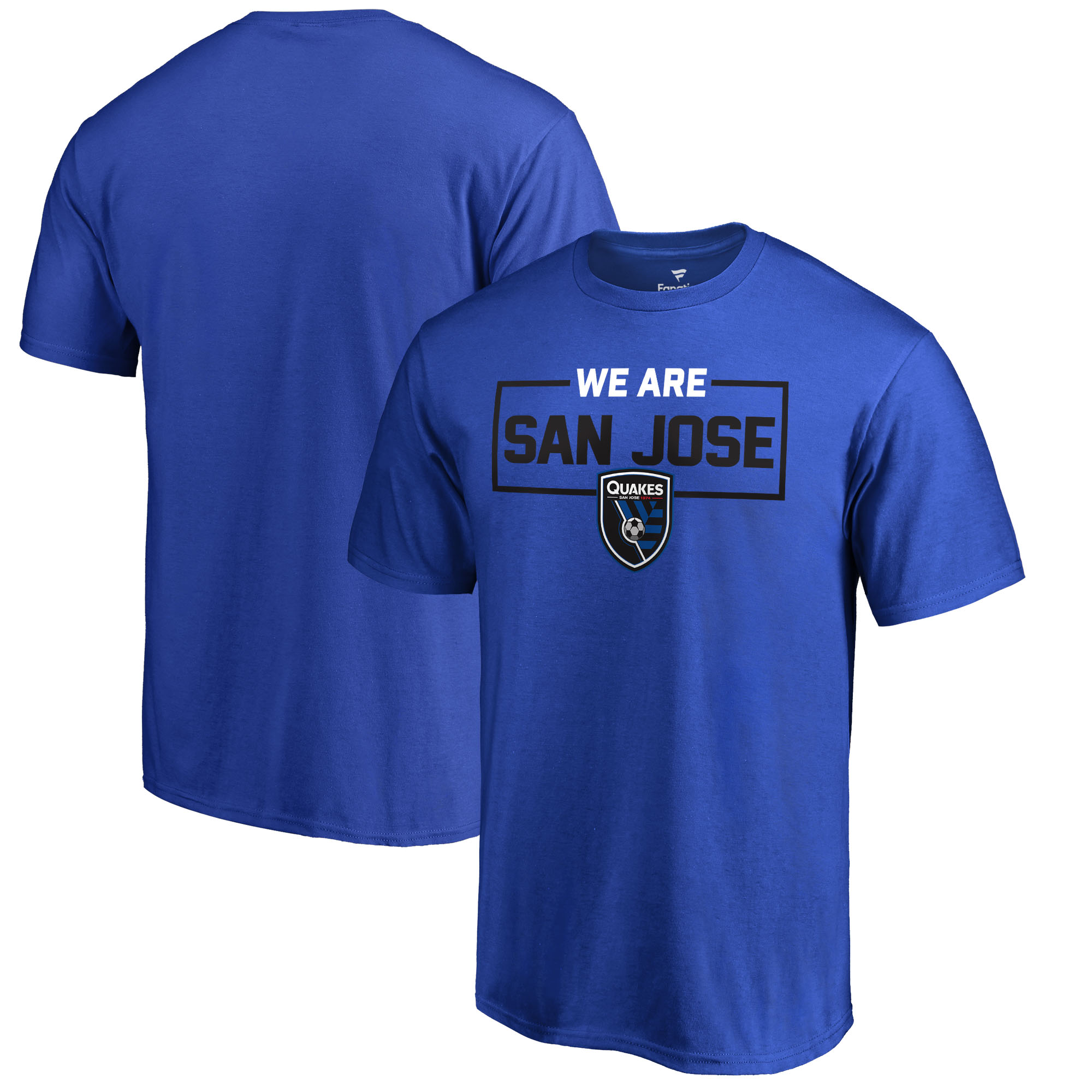 San Jose Earthquakes Fanatics Branded We Are T-Shirt - Blue