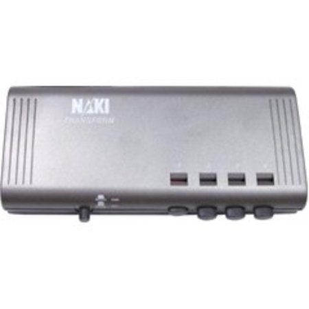International 55725 4 System Universal Selector With Svideo, Connect up to 4 different game systems orWalmartponents to 1 TV By Naki (Universal System Selector)