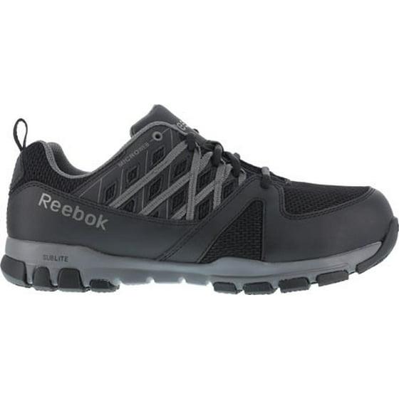 f428563b40c Reebok - Reebok Work Men s Sublite Work RB4016 Steel Toe Sneaker -  Walmart.com