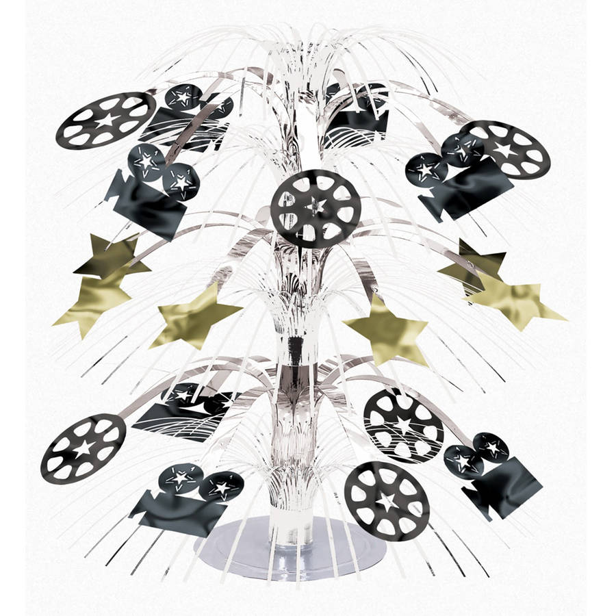 Hollywood Foil Cascade Centerpiece