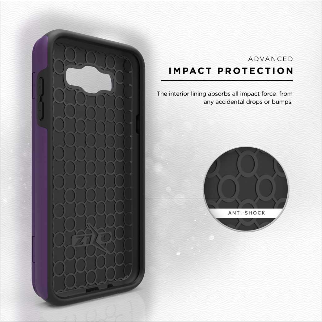 ... Shield Armor Kickstand Avenger Series Casing For Samsung Galaxy J7 - Grey +. Source · Samsung Galaxy J7 Case, [Vettore by Zizo] All-in-One Wallet