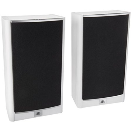 JBL Arena 120 White 2 Way 55 Inch Wall Mountable Bookshelf Loudspeakers