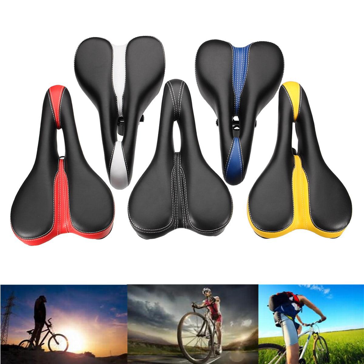 Shockproof Unisex Road MTB Bike Hollow Saddle Bicycle Cycling Seat Cushion Pad