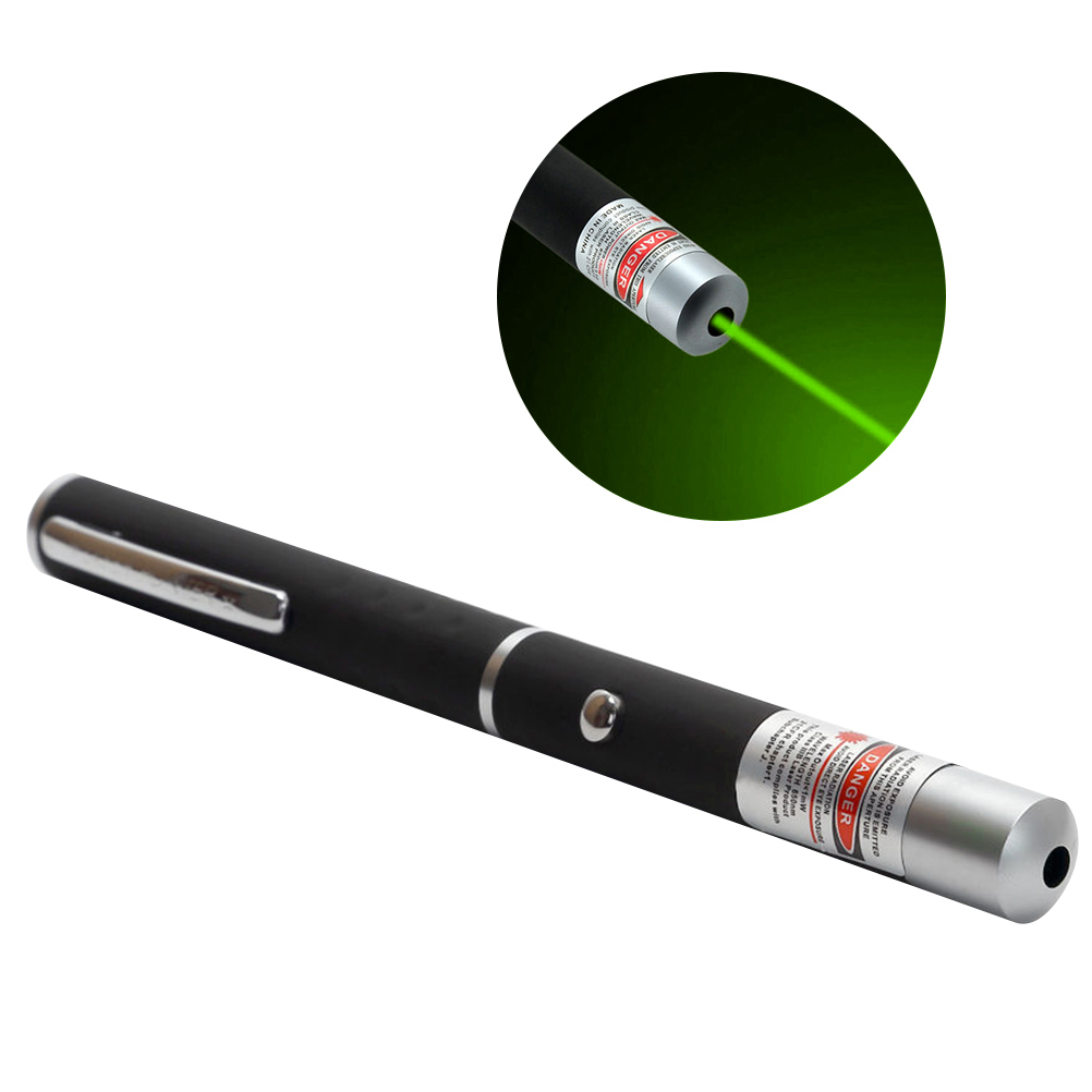 Black Laser Pointer Pen with Red Light Screen Pointer for Teaching PPT Presentation