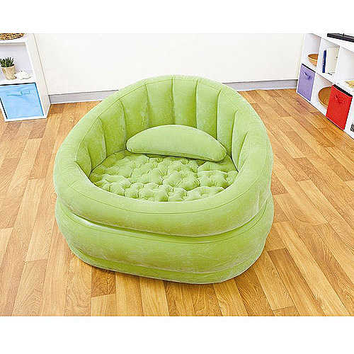 Inflatable Furniture Intex: Intex Cafe Inflatable Chair, Green